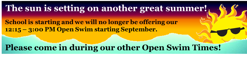 end of summer notice banner